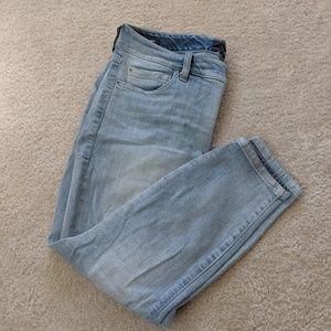 Torrid curvy skinny jeans